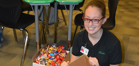 Candy Drive brings in sweet results!