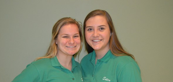Seton juniors admitted into the Health Collaborative's TAP programs