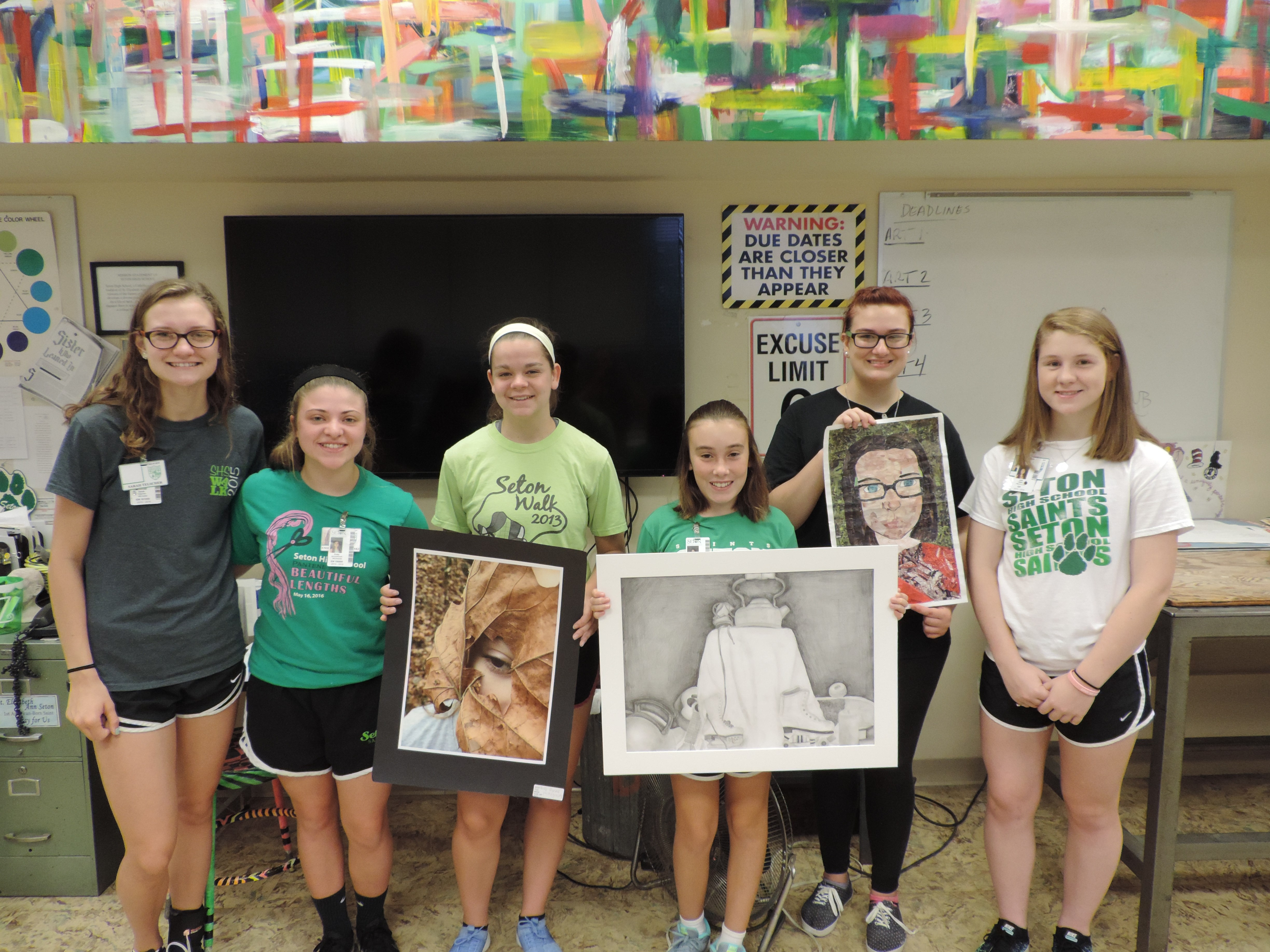 Art Awards for Seton Students
